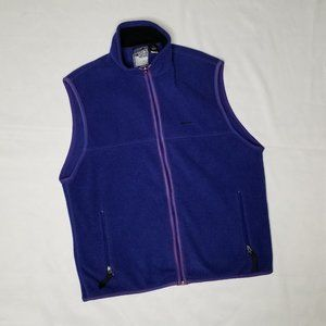 PATAGONIA Goldman Sachs blue and purple vest